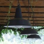 LANTERNE SMALTATE  CON LAMPADA RISPARMIO ENERGETICO