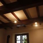 BINARIO CON LAMPADE ALOGENE REGOLABILI